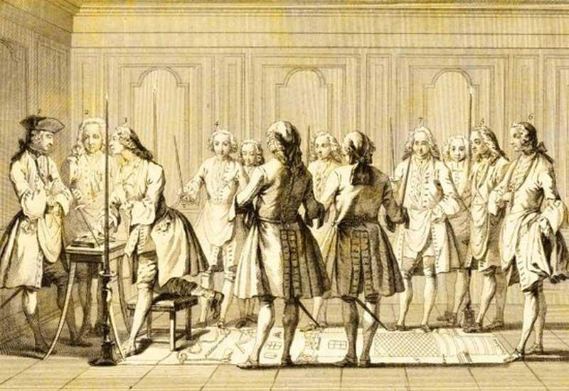 দ্বৈত শাসন (১৭৬৫ সাল), ১৭৫৭ সাল থেকে ১৯৪৭ সাল পর্যন্ত দশটি উল্লেখযোগ্য ঘটনার সচিত্র পোস্টার